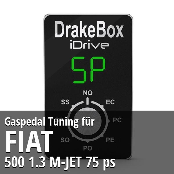 Gaspedal Tuning Fiat 500 1.3 M-JET 75 ps