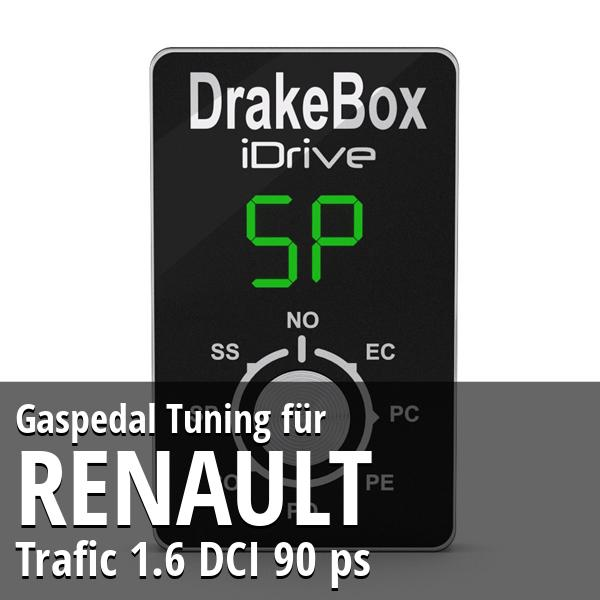 Gaspedal Tuning Renault Trafic 1.6 DCI 90 ps