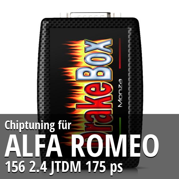 Chiptuning Alfa Romeo 156 2.4 JTDM 175 ps