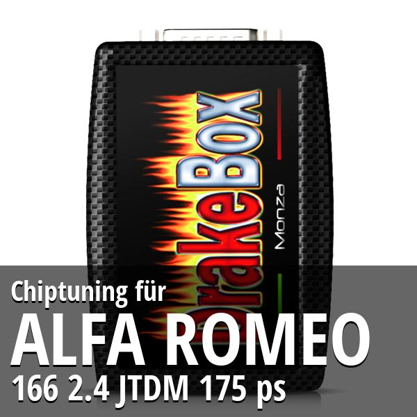 Chiptuning Alfa Romeo 166 2.4 JTDM 175 ps