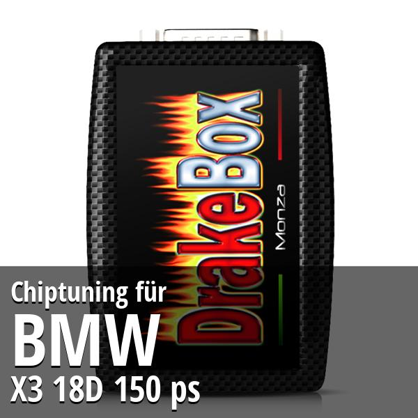 Chiptuning Bmw X3 18D 150 ps