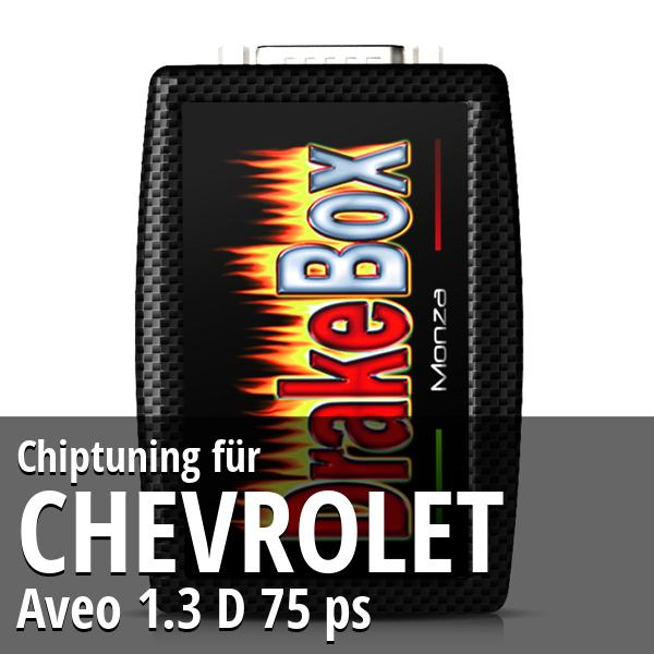 Chiptuning Chevrolet Aveo 1.3 D 75 ps