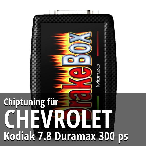 Chiptuning Chevrolet Kodiak 7.8 Duramax 300 ps