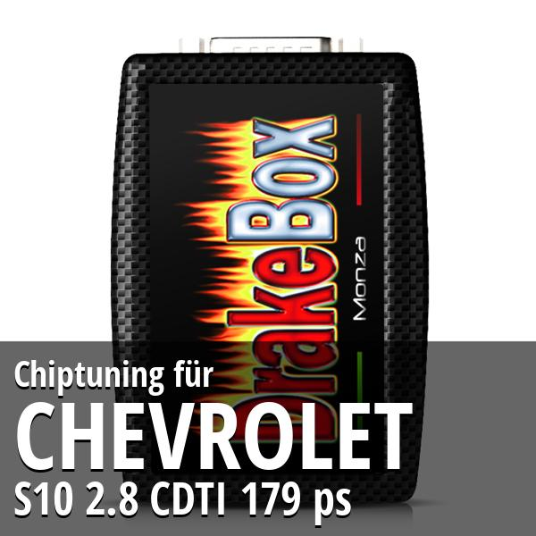 Chiptuning Chevrolet S10 2.8 CDTI 179 ps