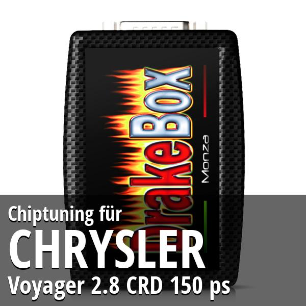 Chiptuning Chrysler Voyager 2.8 CRD 150 ps
