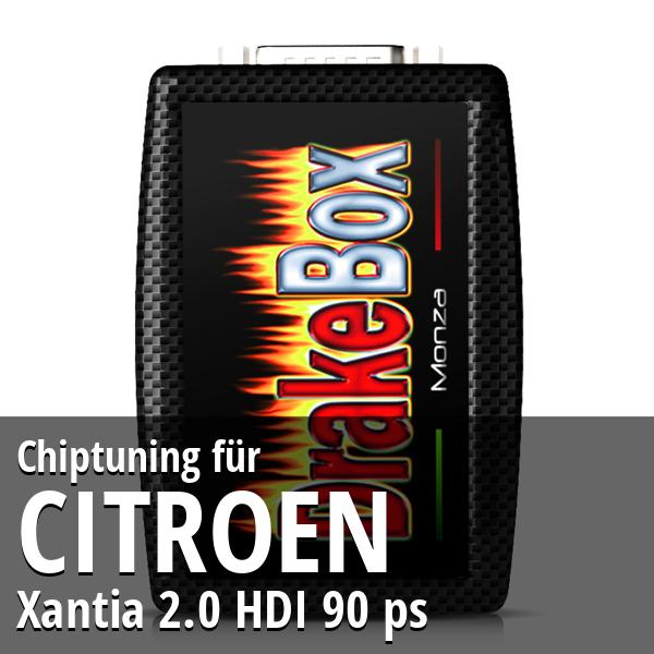 Chiptuning Citroen Xantia 2.0 HDI 90 ps