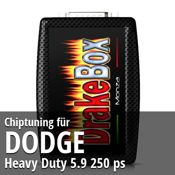 Chiptuning Dodge Heavy Duty 5.9 250 ps