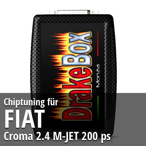 Chiptuning Fiat Croma 2.4 M-JET 200 ps