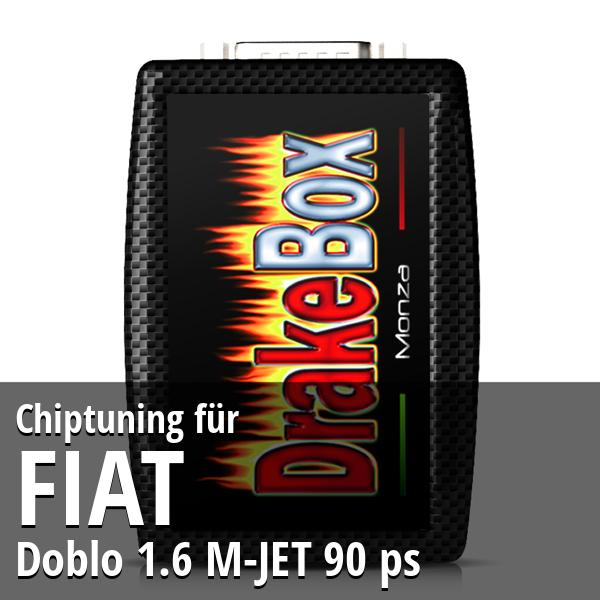 Chiptuning Fiat Doblo 1.6 M-JET 90 ps