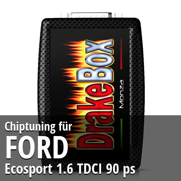 Chiptuning Ford Ecosport 1.6 TDCI 90 ps