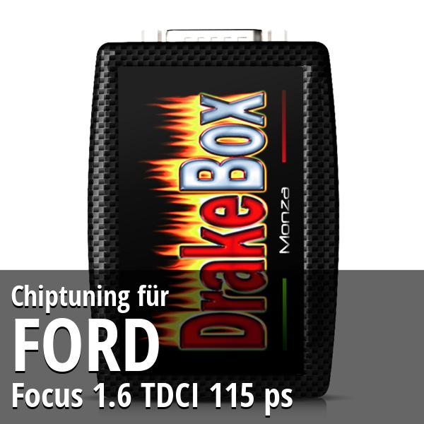 Chiptuning Ford Focus 1.6 TDCI 115 ps