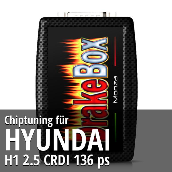 Chiptuning Hyundai H1 2.5 CRDI 136 ps