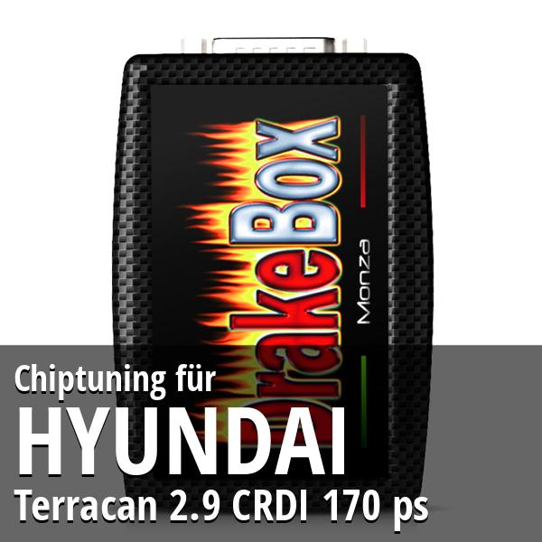 Chiptuning Hyundai Terracan 2.9 CRDI 170 ps