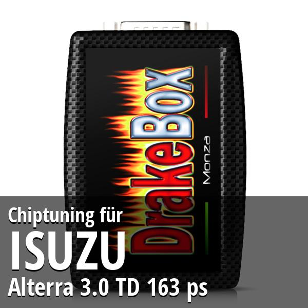 Chiptuning Isuzu Alterra 3.0 TD 163 ps