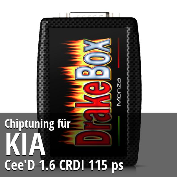 Chiptuning Kia Cee'D 1.6 CRDI 115 ps