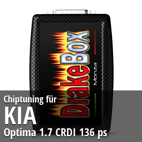 Chiptuning Kia Optima 1.7 CRDI 136 ps