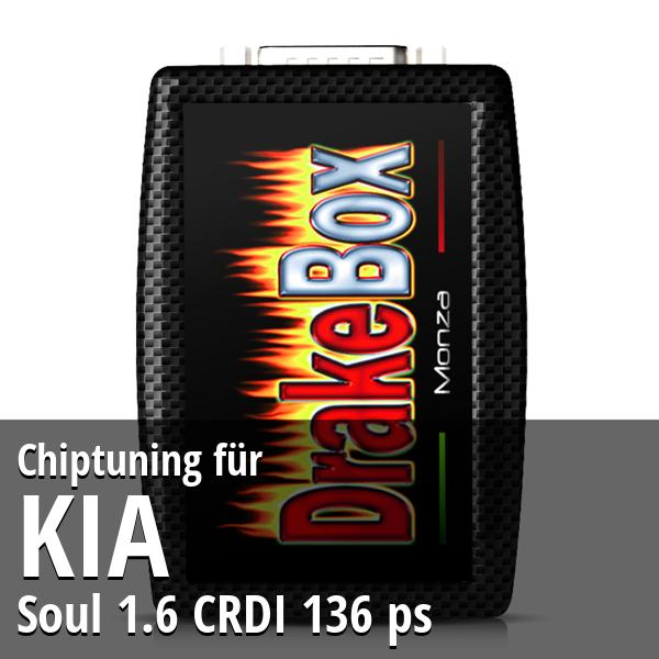 Chiptuning Kia Soul 1.6 CRDI 136 ps