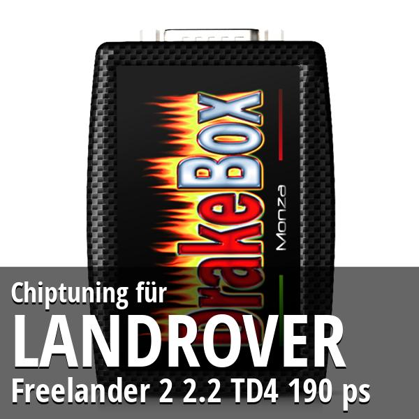 Chiptuning Landrover Freelander 2 2.2 TD4 190 ps