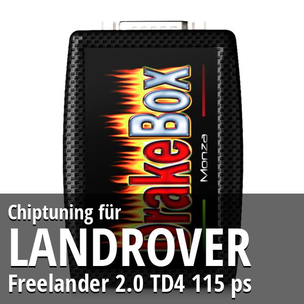 Chiptuning Landrover Freelander 2.0 TD4 115 ps