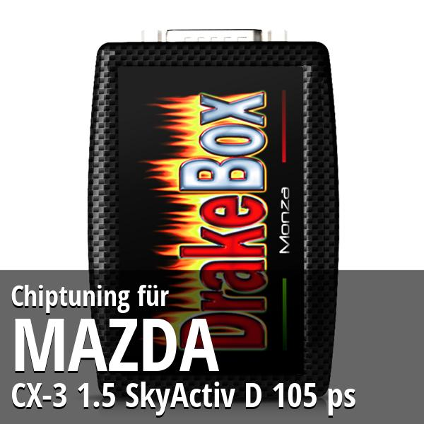 Chiptuning Mazda CX-3 1.5 SkyActiv D 105 ps