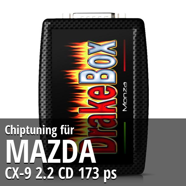 Chiptuning Mazda CX-9 2.2 CD 173 ps