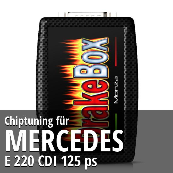 Chiptuning Mercedes E 220 CDI 125 ps
