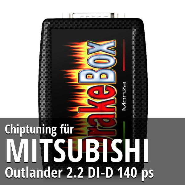 Chiptuning Mitsubishi Outlander 2.2 DI-D 140 ps
