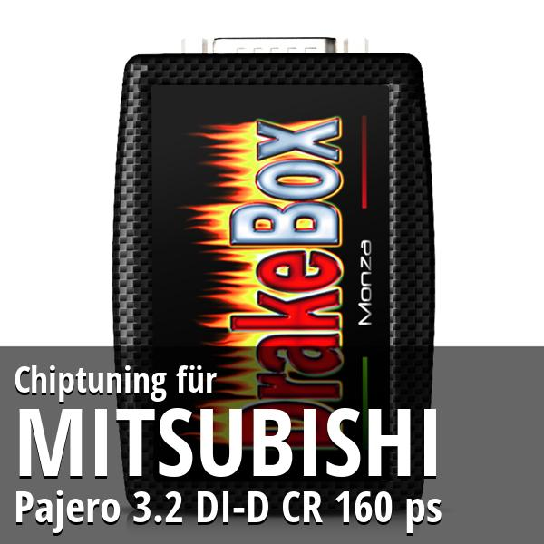 Chiptuning Mitsubishi Pajero 3.2 DI-D CR 160 ps