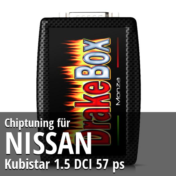 Chiptuning Nissan Kubistar 1.5 DCI 57 ps