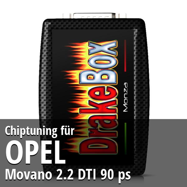 Chiptuning Opel Movano 2.2 DTI 90 ps