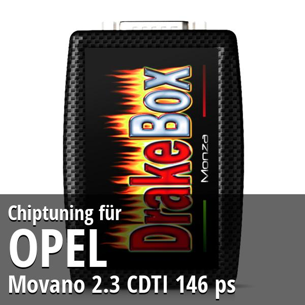 Chiptuning Opel Movano 2.3 CDTI 146 ps
