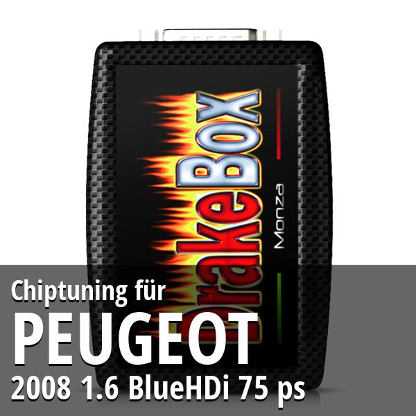 Chiptuning Peugeot 2008 1.6 BlueHDi 75 ps