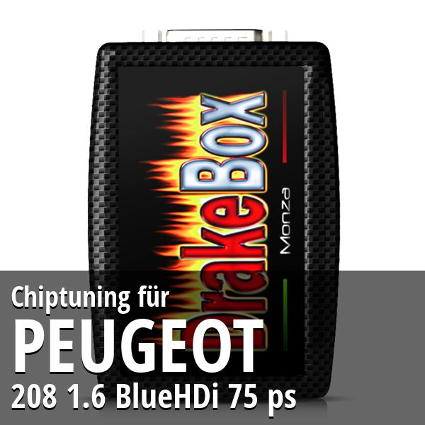 Chiptuning Peugeot 208 1.6 BlueHDi 75 ps