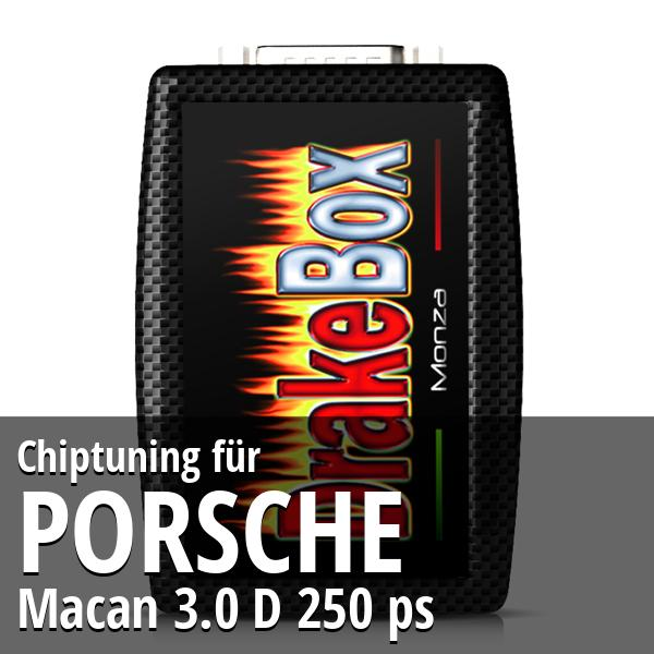 Chiptuning Porsche Macan 3.0 D 250 ps