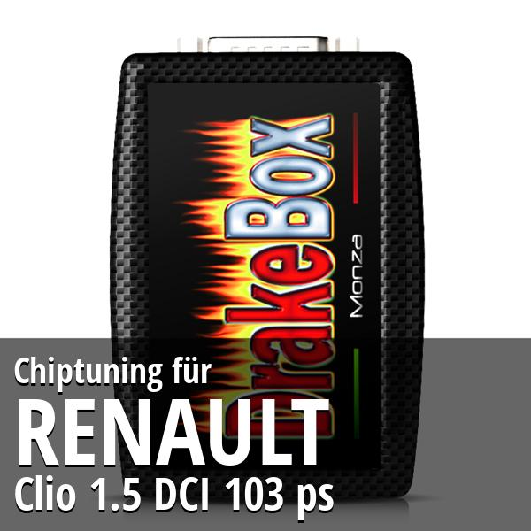 Chiptuning Renault Clio 1.5 DCI 103 ps
