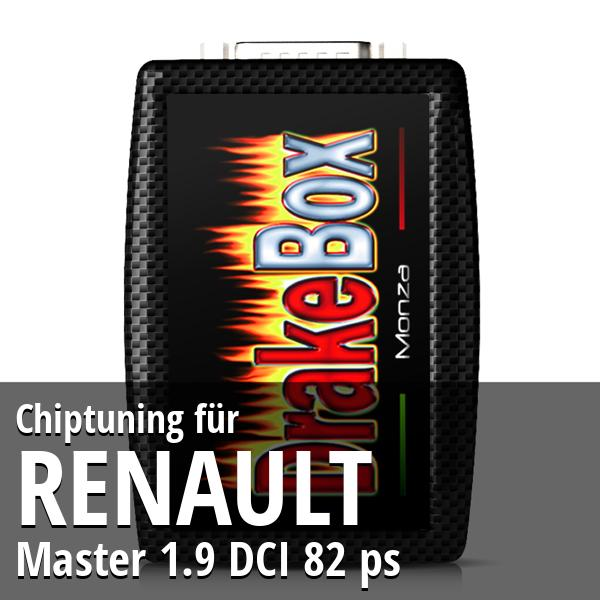 Chiptuning Renault Master 1.9 DCI 82 ps