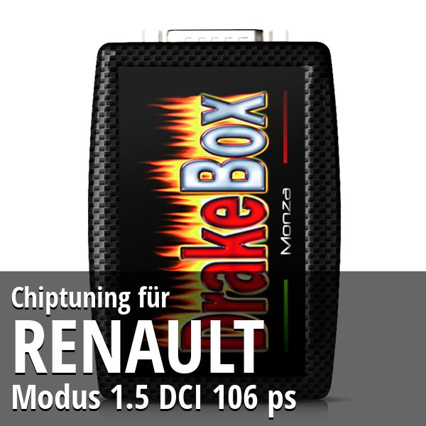 Chiptuning Renault Modus 1.5 DCI 106 ps