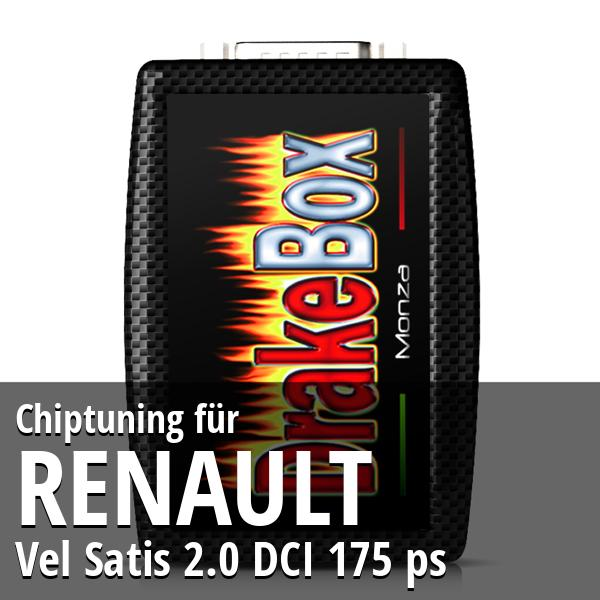 Chiptuning Renault Vel Satis 2.0 DCI 175 ps
