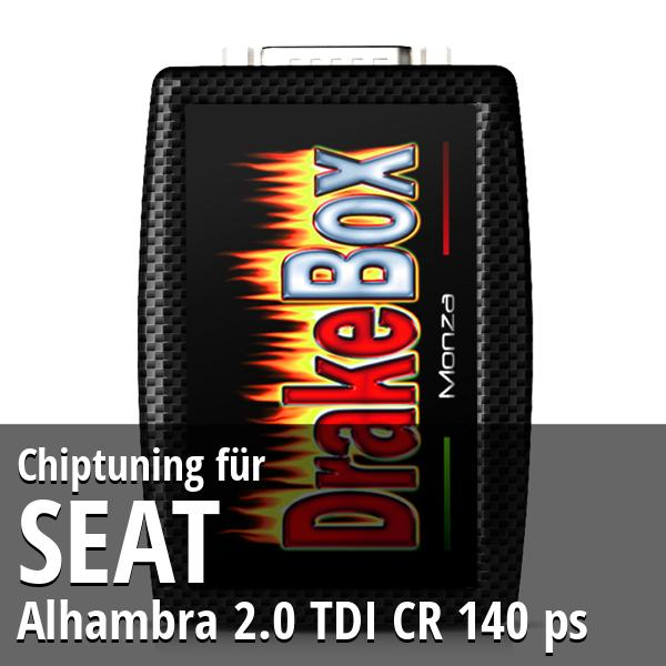 Chiptuning Seat Alhambra 2.0 TDI CR 140 ps
