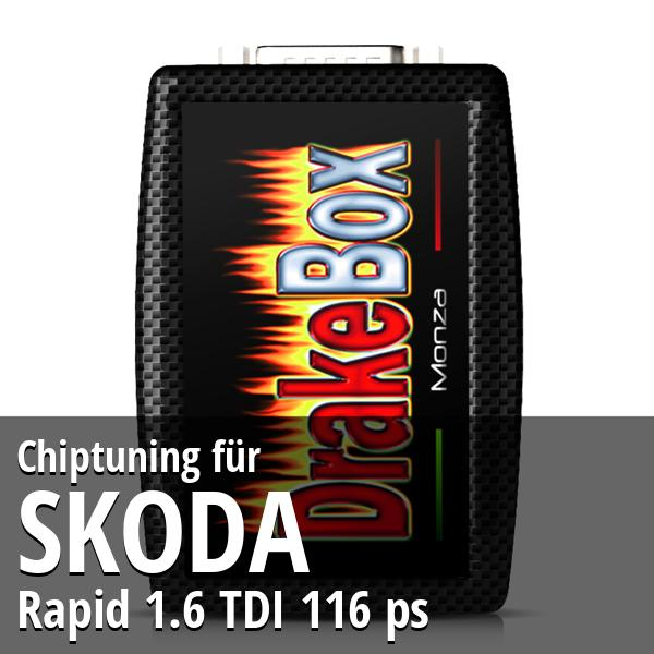 Chiptuning Skoda Rapid 1.6 TDI 116 ps