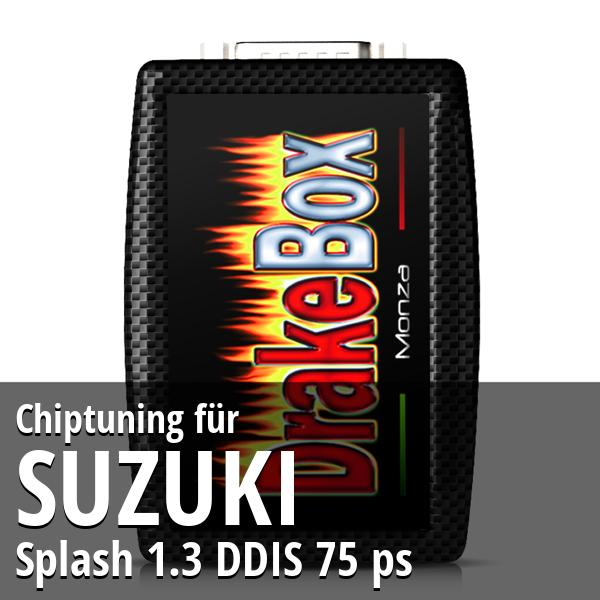 Chiptuning Suzuki Splash 1.3 DDIS 75 ps