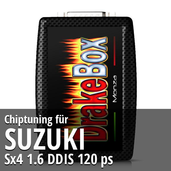 Chiptuning Suzuki Sx4 1.6 DDIS 120 ps