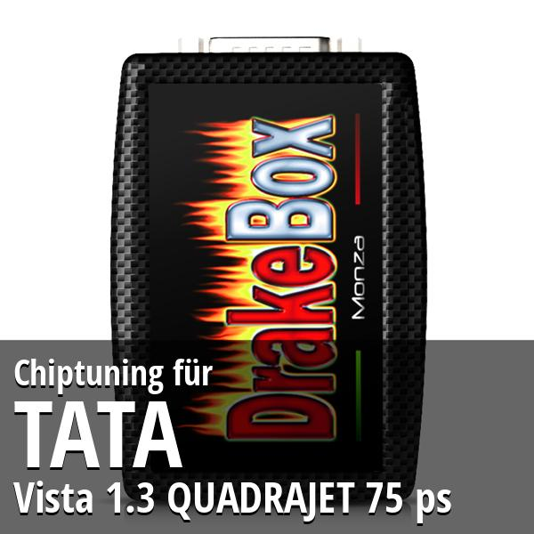 Chiptuning Tata Vista 1.3 QUADRAJET 75 ps