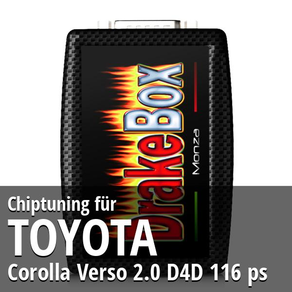 Chiptuning Toyota Corolla Verso 2.0 D4D 116 ps