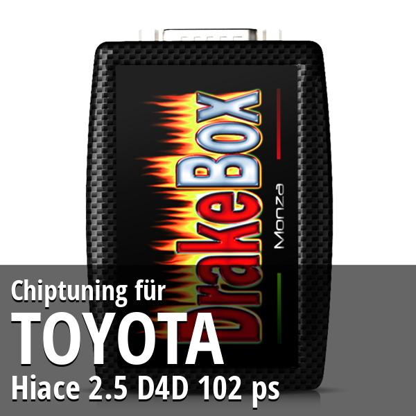 Chiptuning Toyota Hiace 2.5 D4D 102 ps