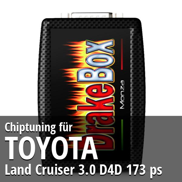 Chiptuning Toyota Land Cruiser 3.0 D4D 173 ps