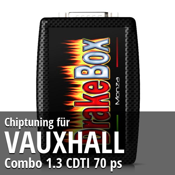 Chiptuning Vauxhall Combo 1.3 CDTI 70 ps