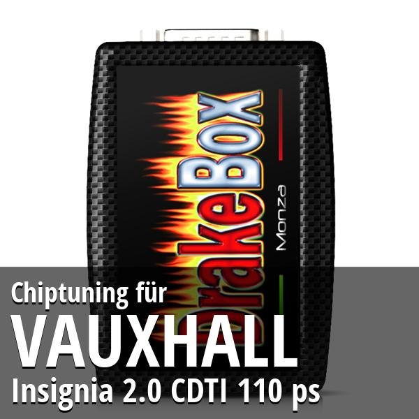 Chiptuning Vauxhall Insignia 2.0 CDTI 110 ps