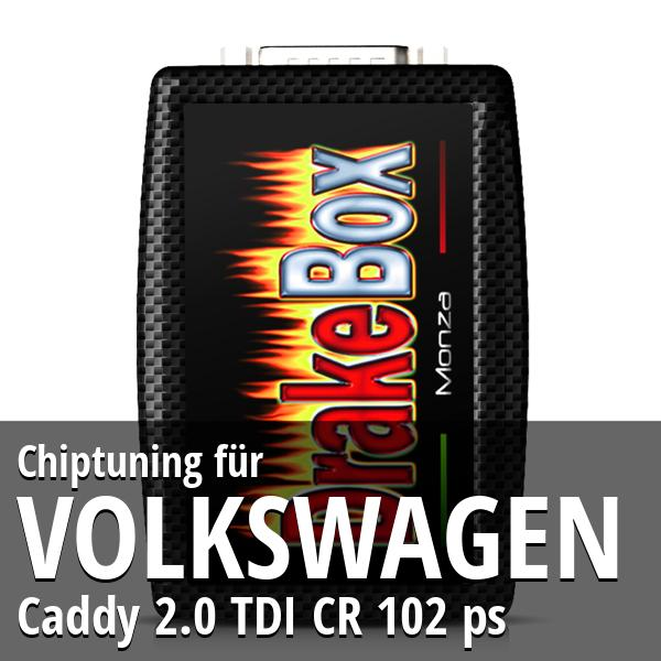 Chiptuning Volkswagen Caddy 2.0 TDI CR 102 ps