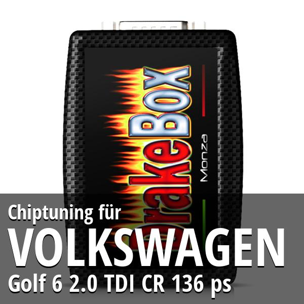 Chiptuning Volkswagen Golf 6 2.0 TDI CR 136 ps